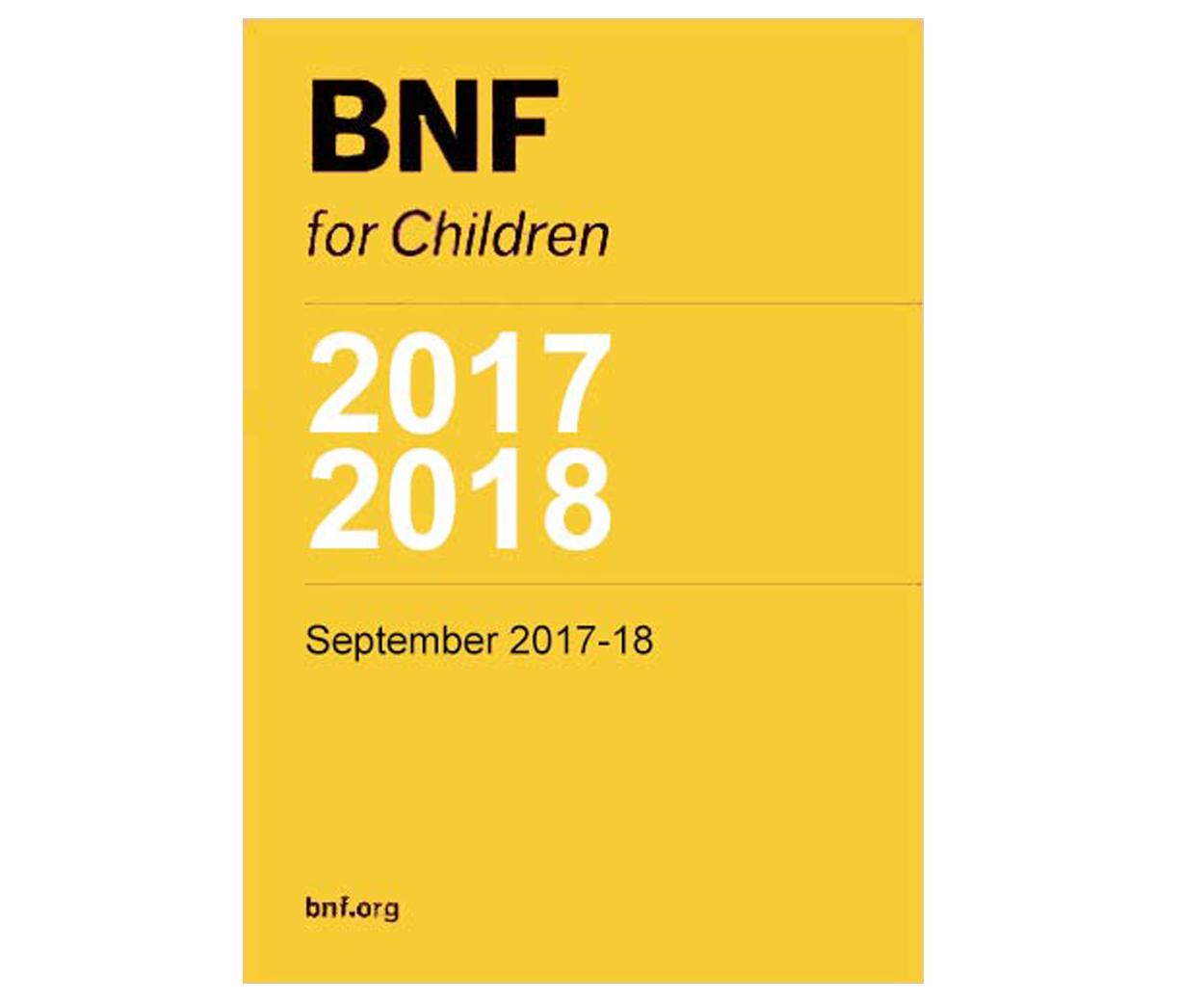 BNF for Children 2017-2018