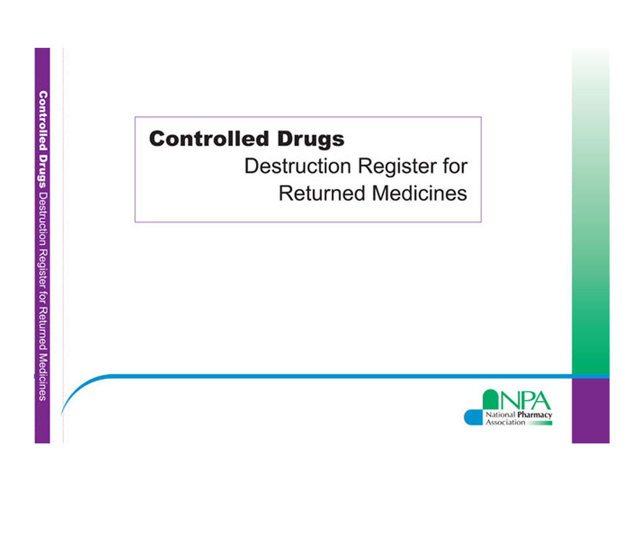 Controlled Drugs Destruction Register