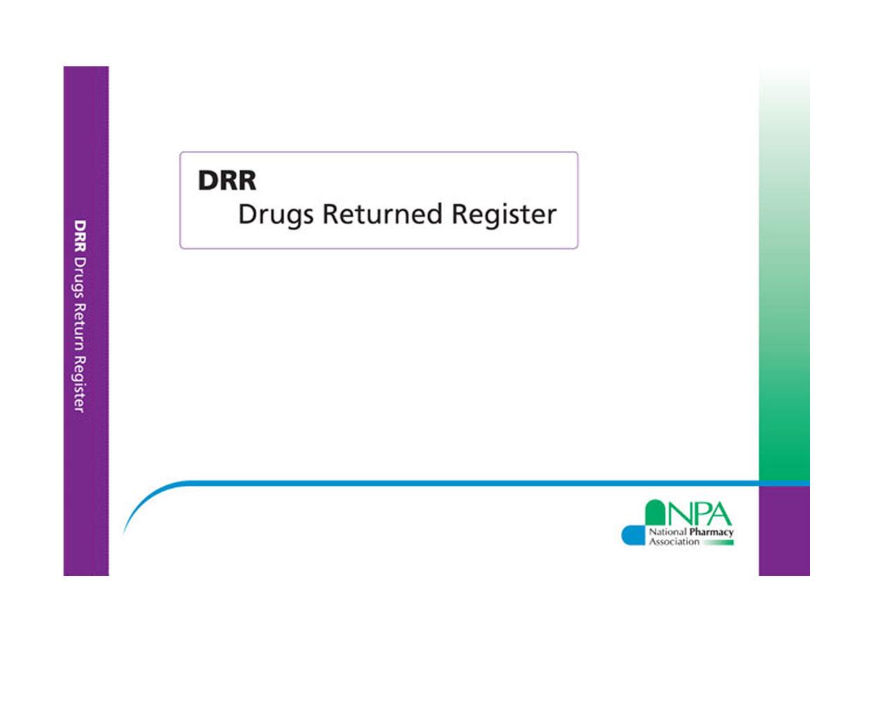 NPA Drugs Returned Register