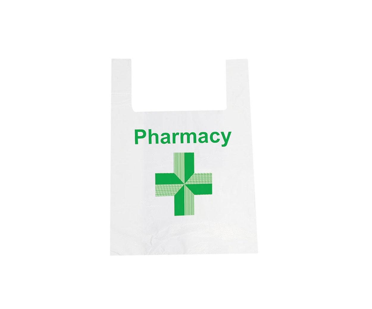 Vest Pharmacy Carrier Bag
