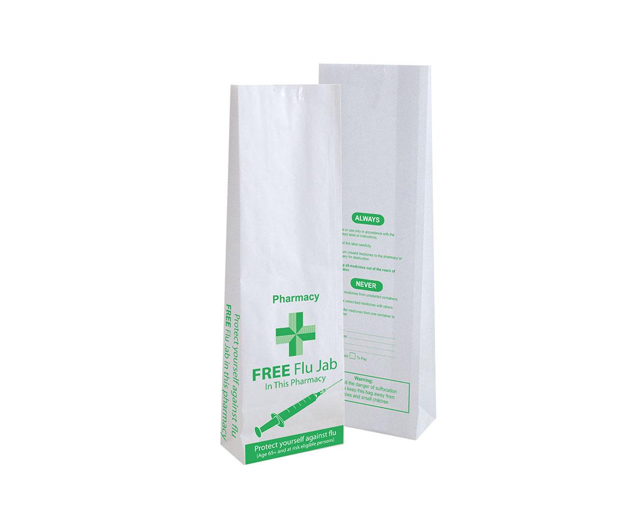 Flu Prescription Bags