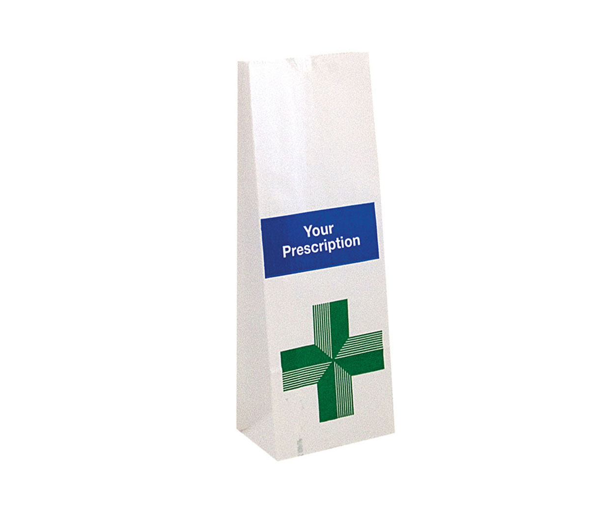 Block Bottom Prescription Bags