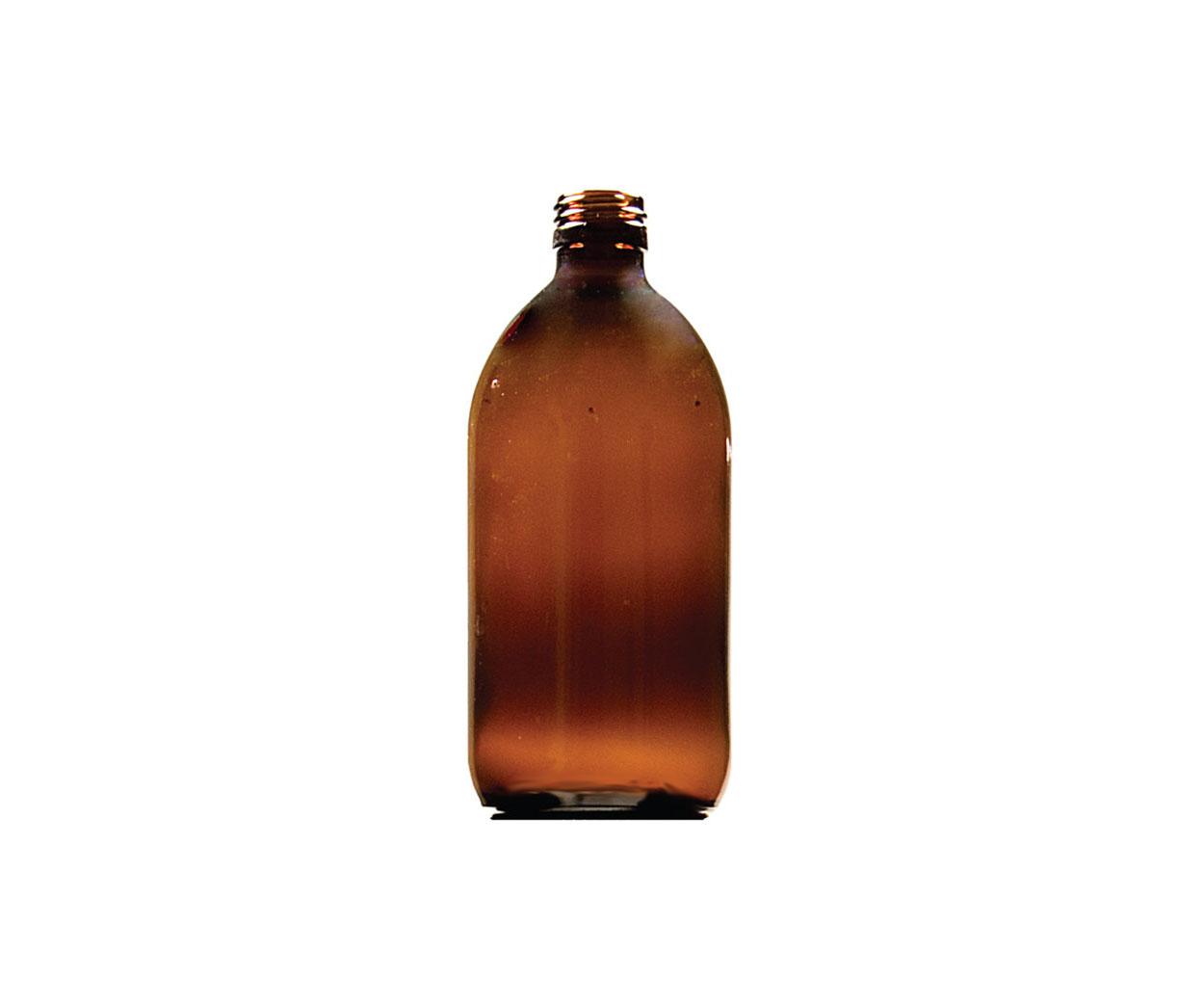 Lightweight 60ml Round Glass Medicine Bottle - Pack of 132
