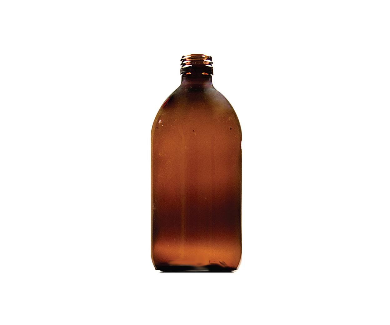 Lightweight 150ml Round Glass Medicine Bottle - Pack of 84