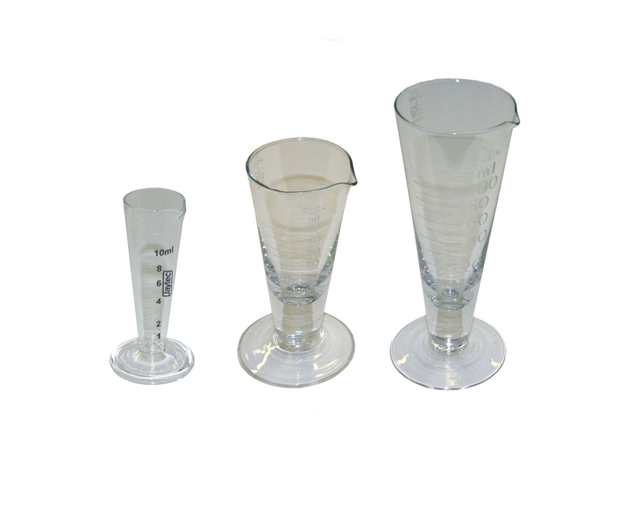 Stamped Conical Measure Dispensing Set