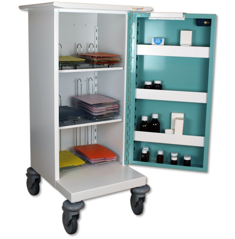 Small Medicine Trolley - 6 Hoops
