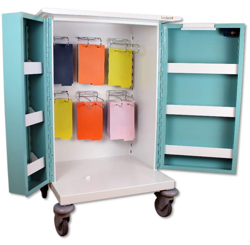 Large Medicine Trolley - 6 Hoops