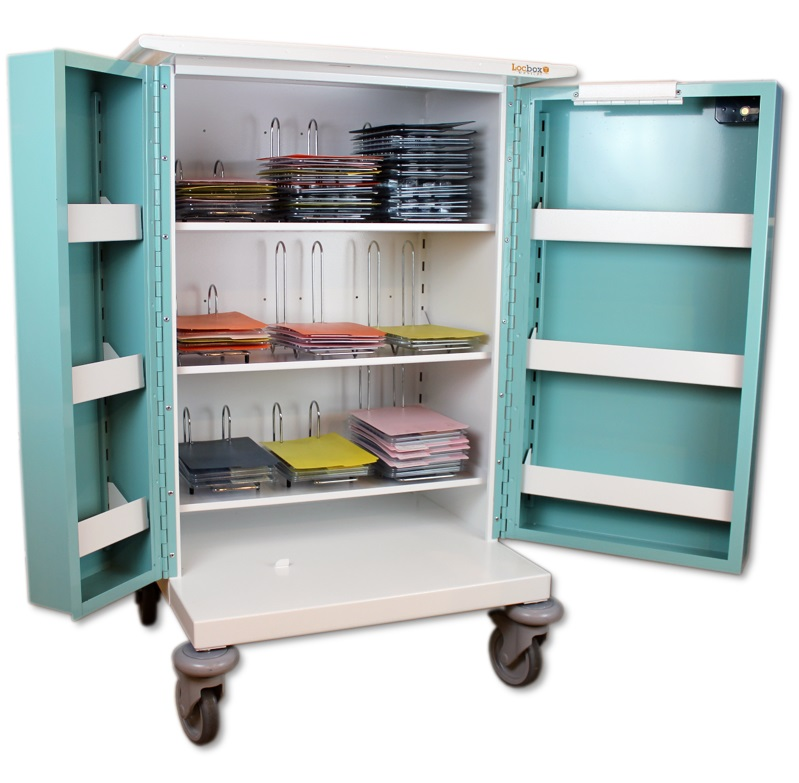 Large Medicine Trolley - 9 Hoops