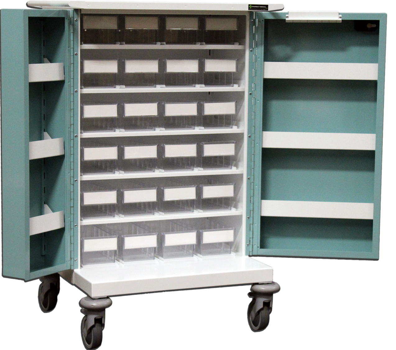 24 Tray Original Packaging Trolley