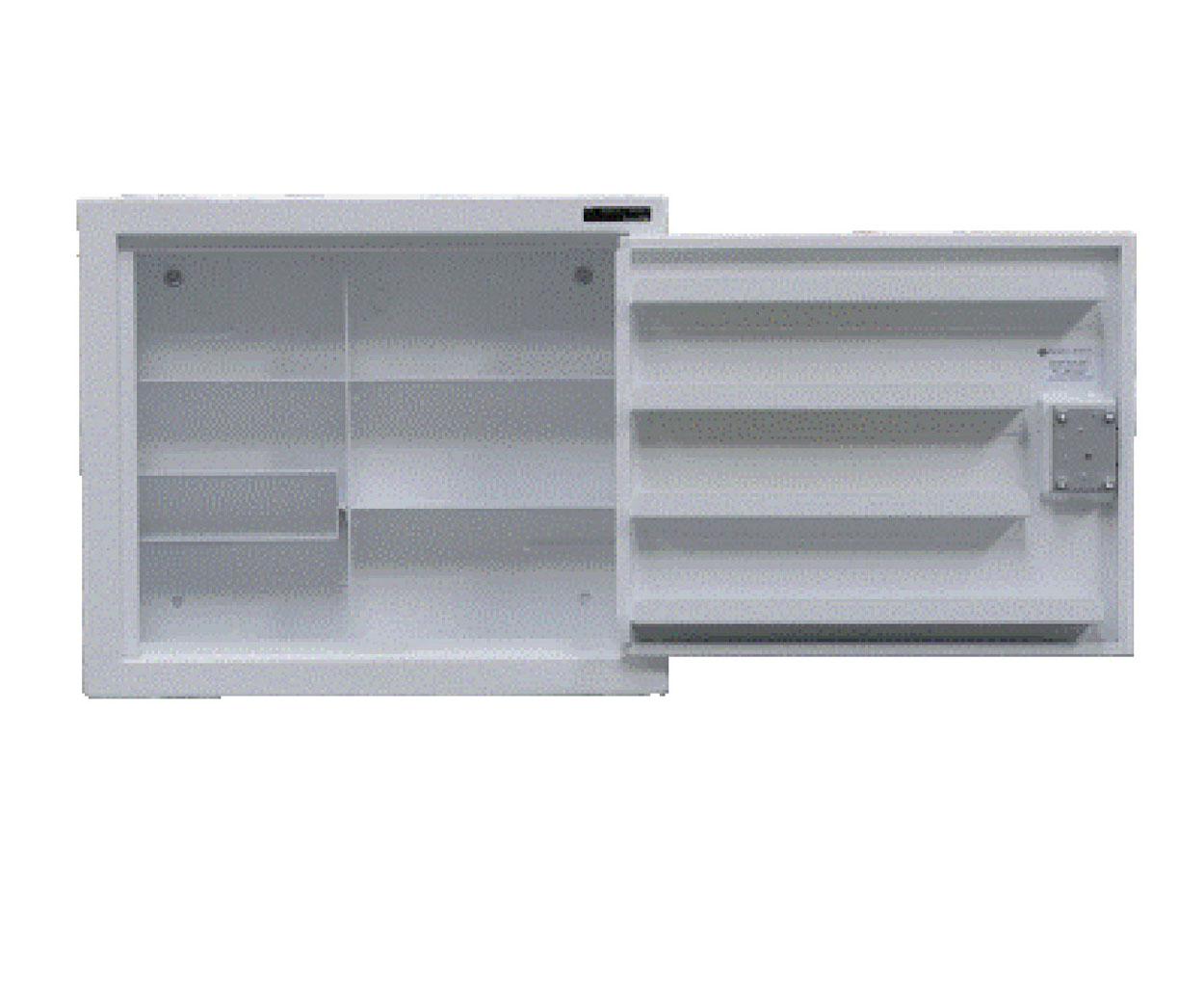 Controlled Drug Cabinet - 480mm  x  560mm  x  160mm - 4 Shelf