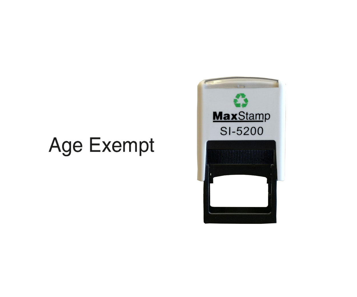 Age Exempt Stamp