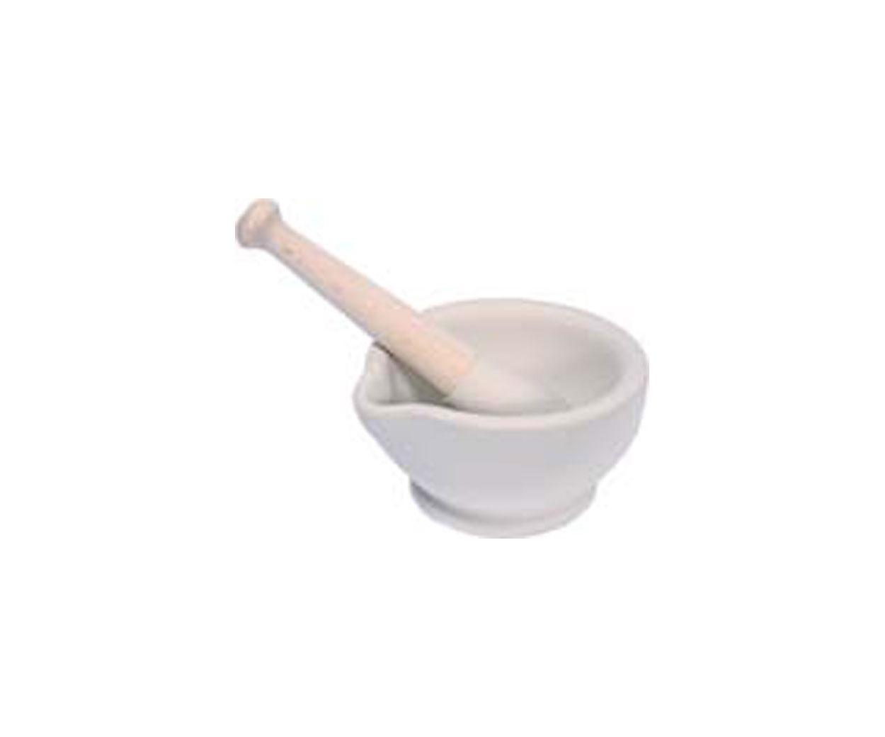 Mortar & Pestle Porcelain - 115mm