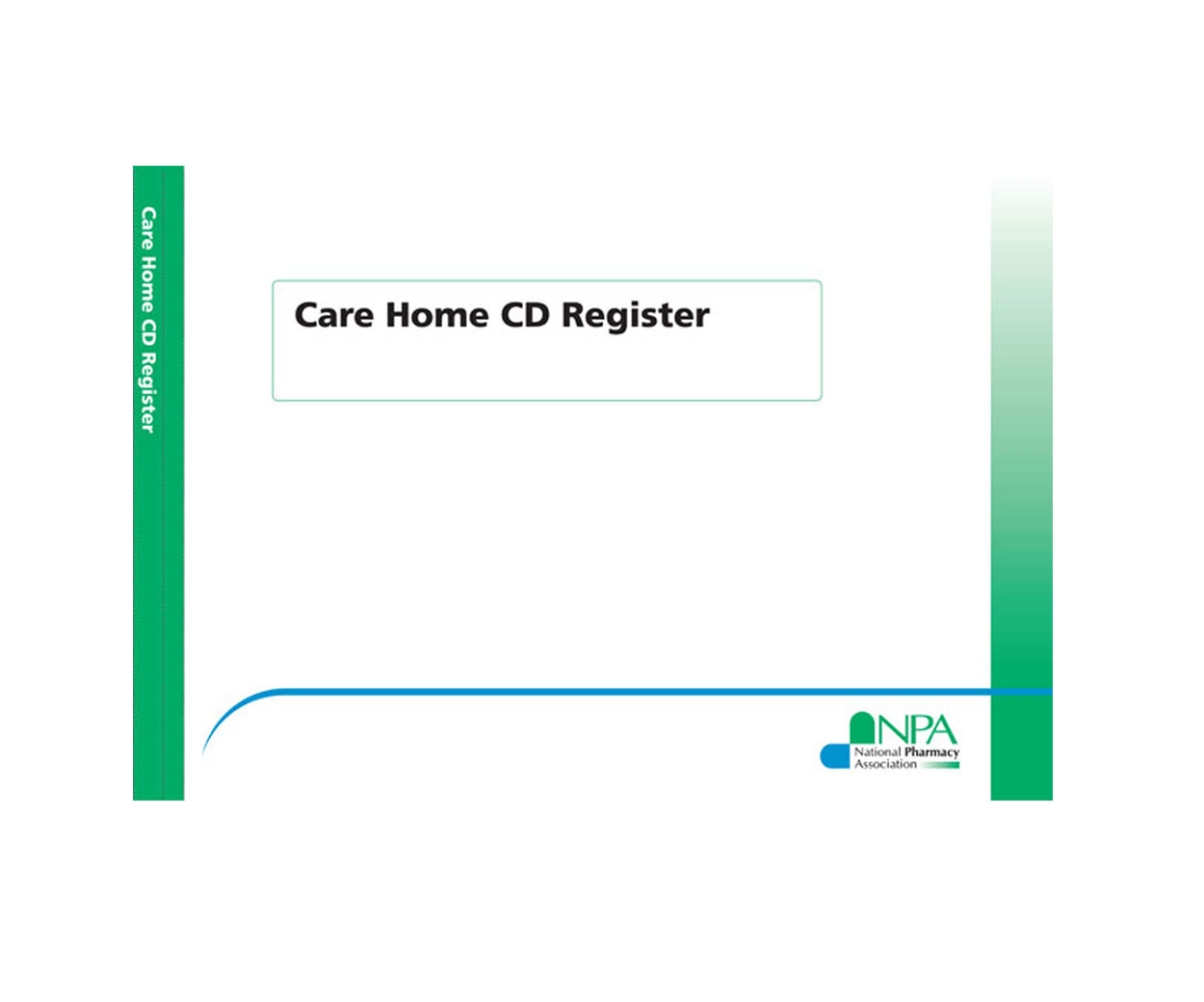 NPA Care Home CD Register