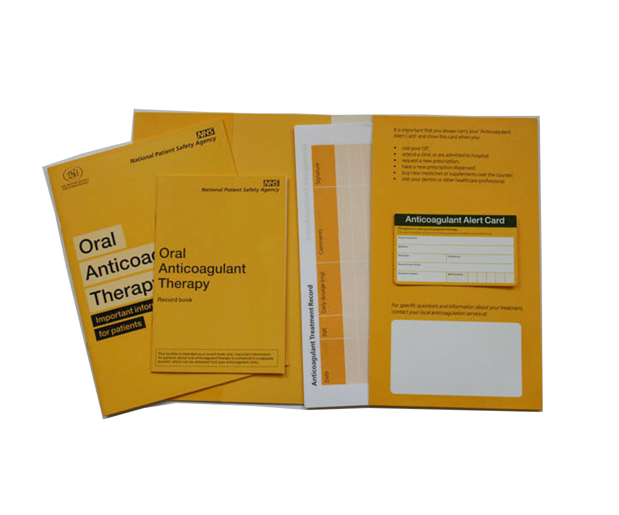 Oral Anticoagulant Therapy Pack - Pack of 1