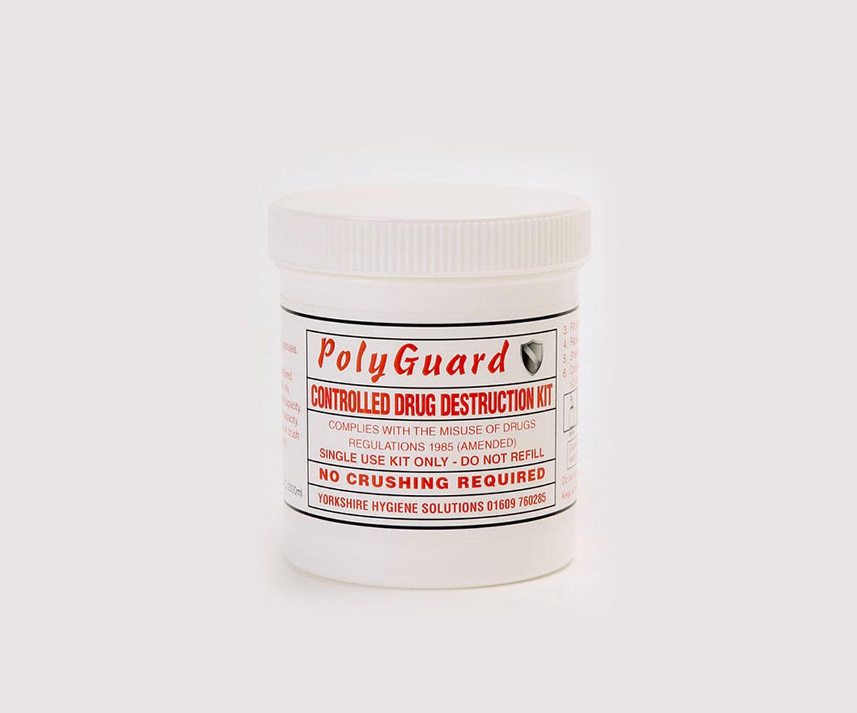 PolyGuard Controlled Drug Destruction Kits