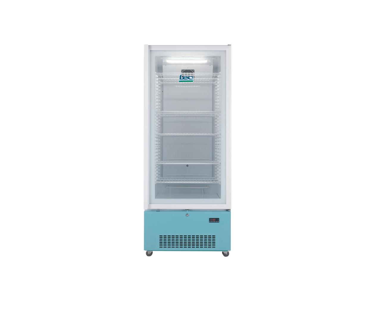 PG1607C Freestanding Pharmacy Refrigerator Glass Door 444L