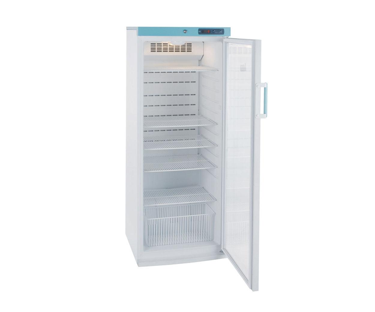 Lec 273 litre PGR273UK Freestanding Pharmacy Fridge with Glass Door