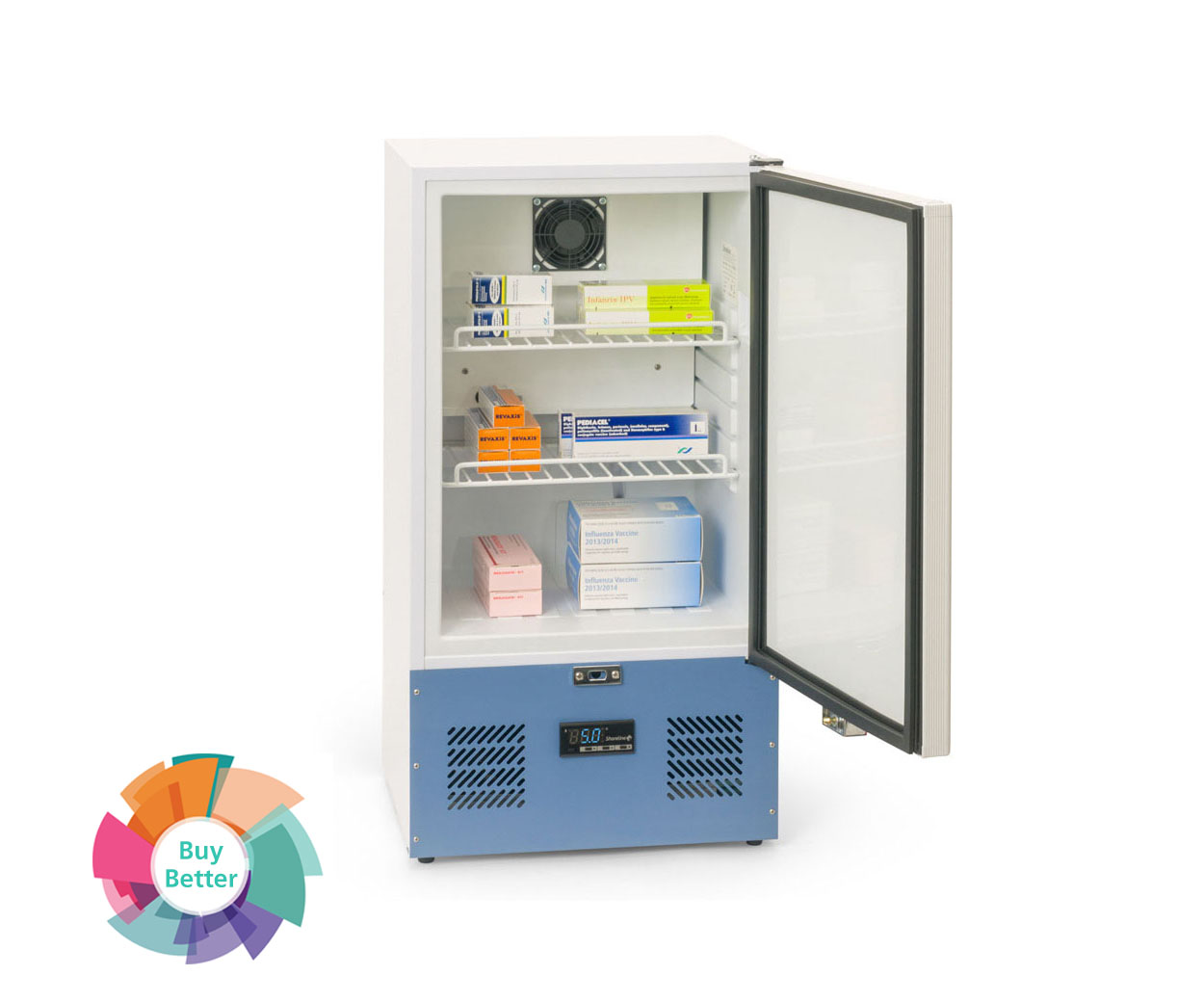 Shoreline SM45 Solid Door Pharmacy Fridge – 45 litre