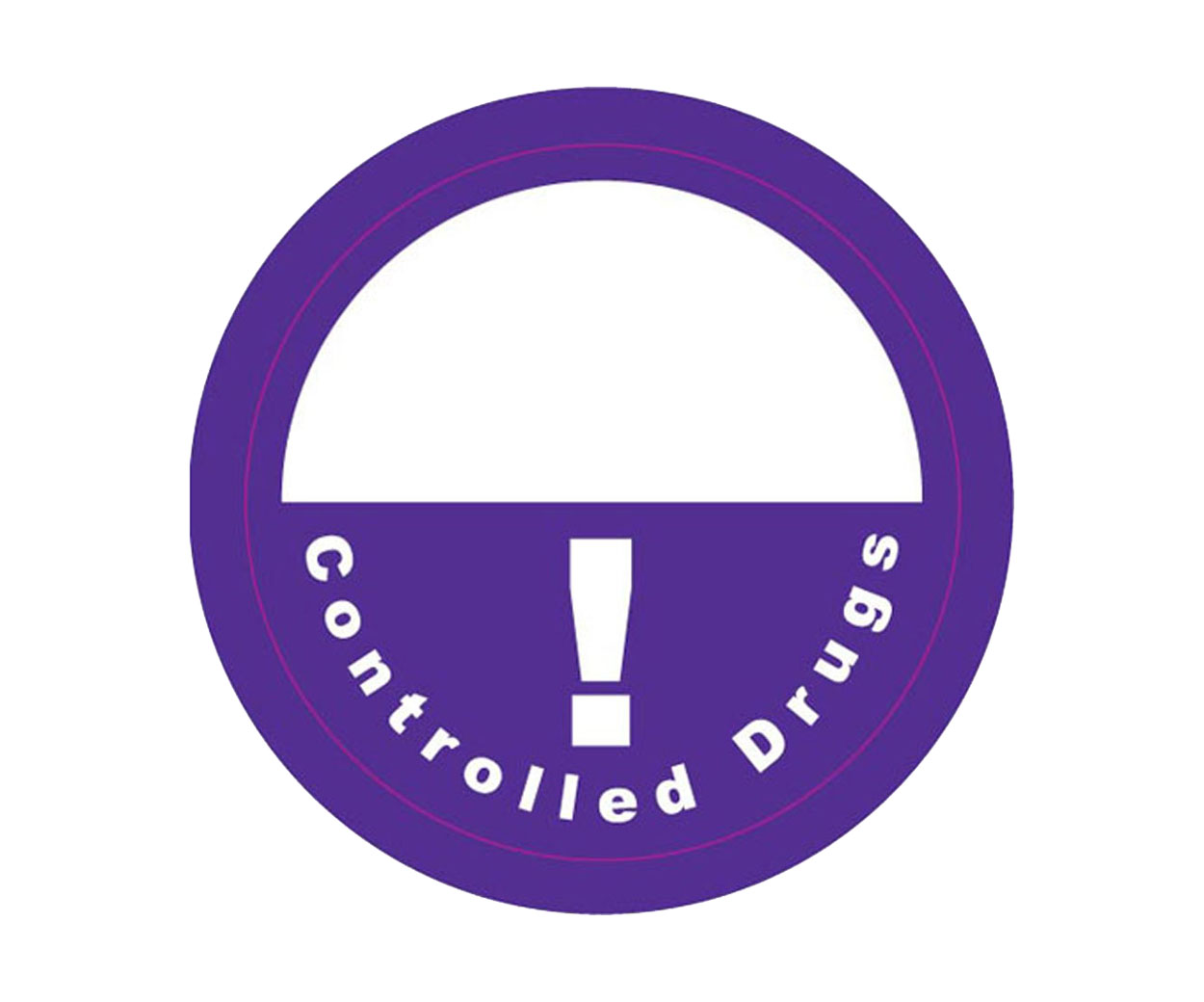 Controlled Drugs Prescription Alert Stickers