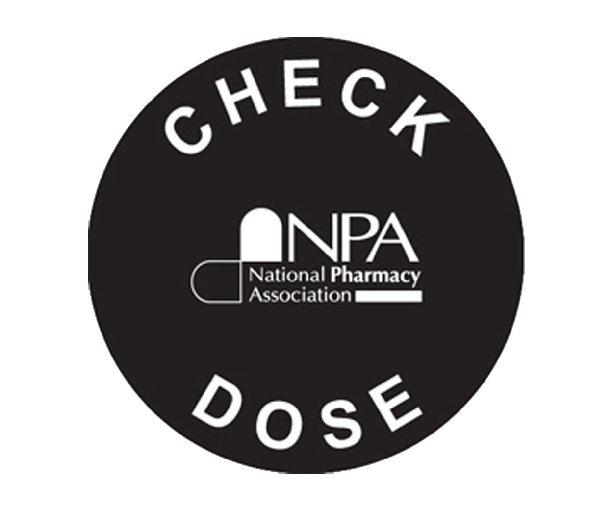GREAT VALUE - Check Dose Prescription Alert Sticker - Pack of 1000