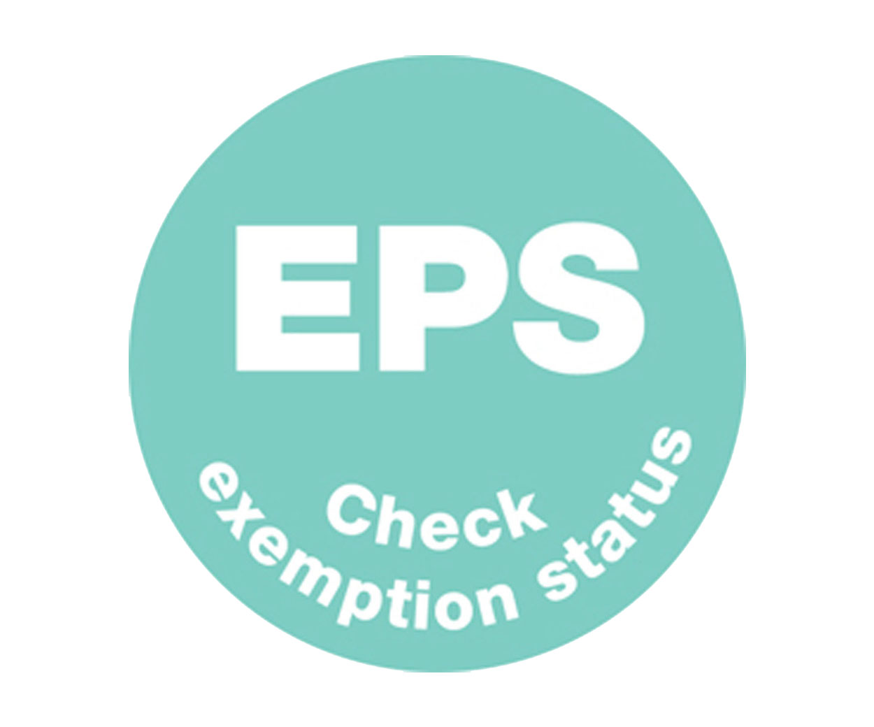EPS Prescription Alert Sticker