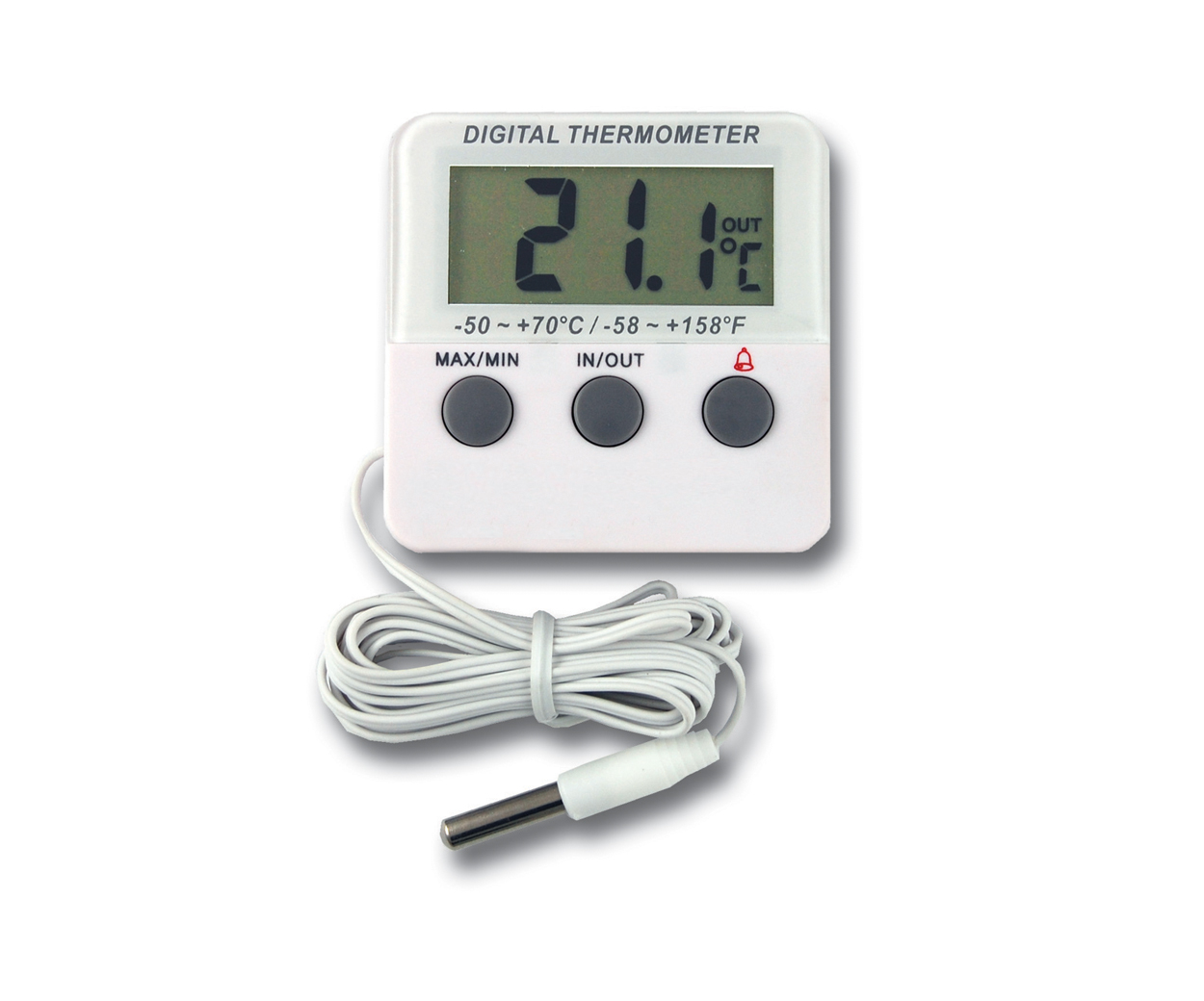 Calibrated Fridge Thermometer with 3 Point Calibration Certificate