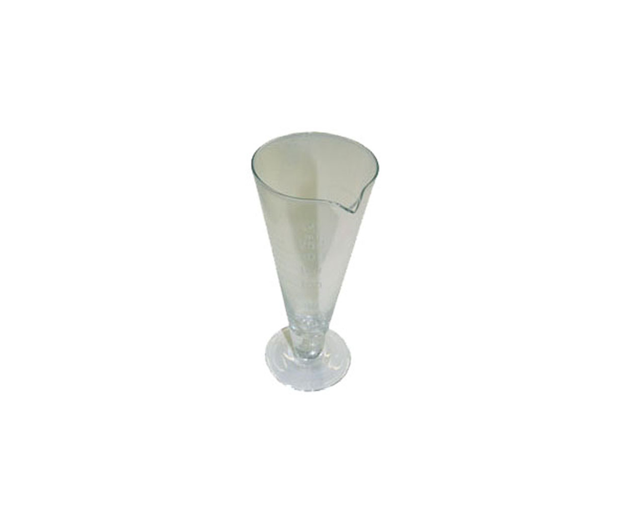 50ml Stamped Conical Measure with 10 Graduations
