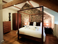 Luxury accommodation at Llyn Peninsula, North Wales