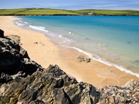 Beautiful beaches at Trewhiddle, Cornwall