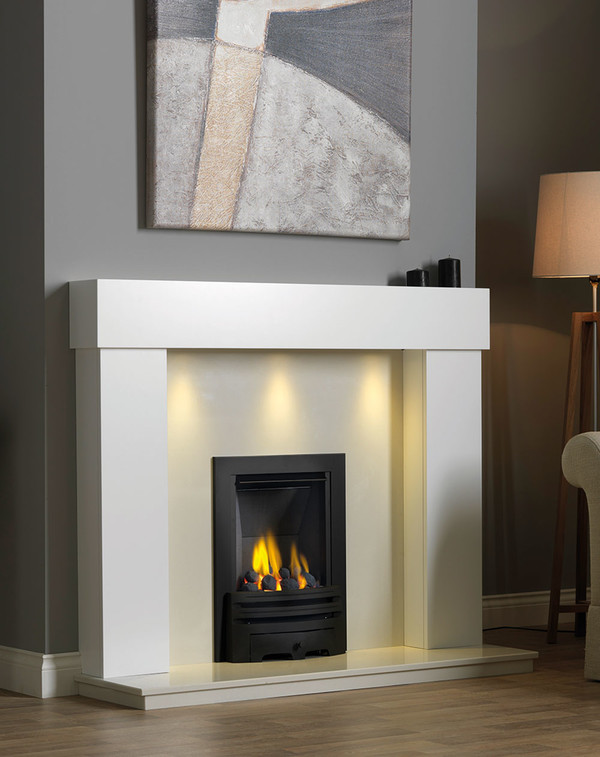 Kentmere Fireplace Surround in Brilliant White