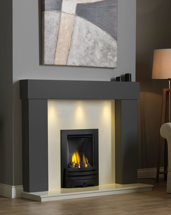 Kentmere Fireplace Surround in Smooth Slate
