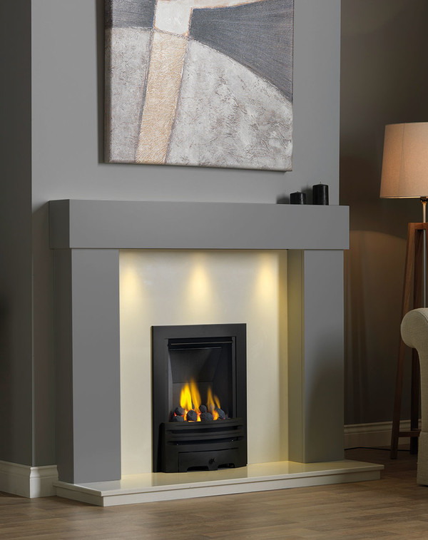 Kentmere Fireplace Surround in Storm
