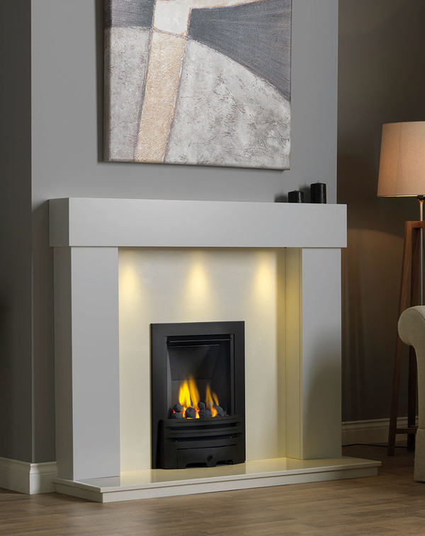 Kentmere Fireplace Surround in Smooth Mist