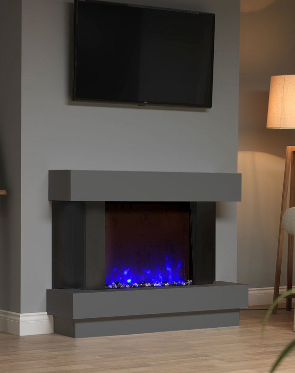 Sofia Electric Suite in Smooth Slate