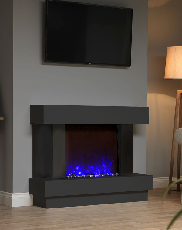 Sofia Electric Suite in Matt Black