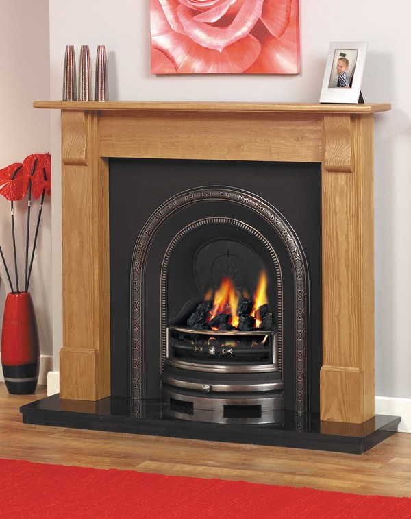 Derry pine mantelpiece l
