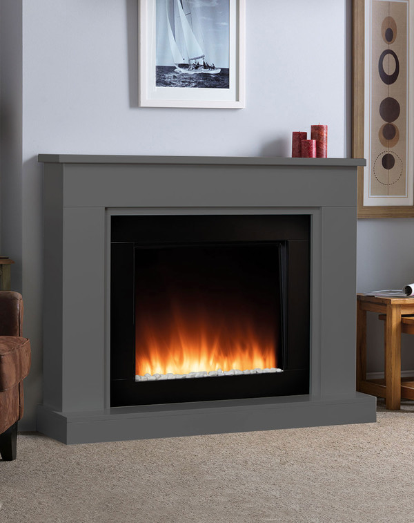 Pristina electric Suite in Smooth Slate