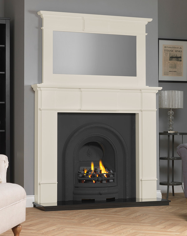 Chesham Fireplace Surround shown here in Olde England White