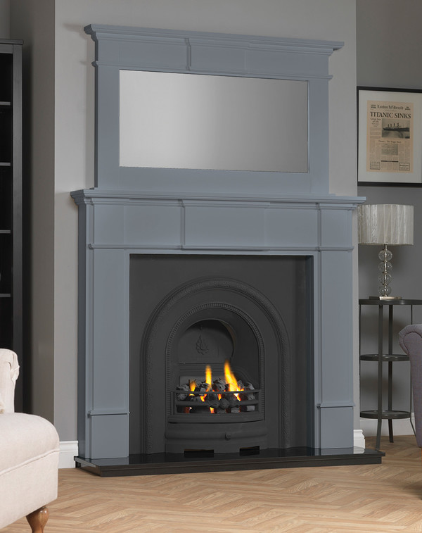 Chesham Fireplace Surround shown here in Storm