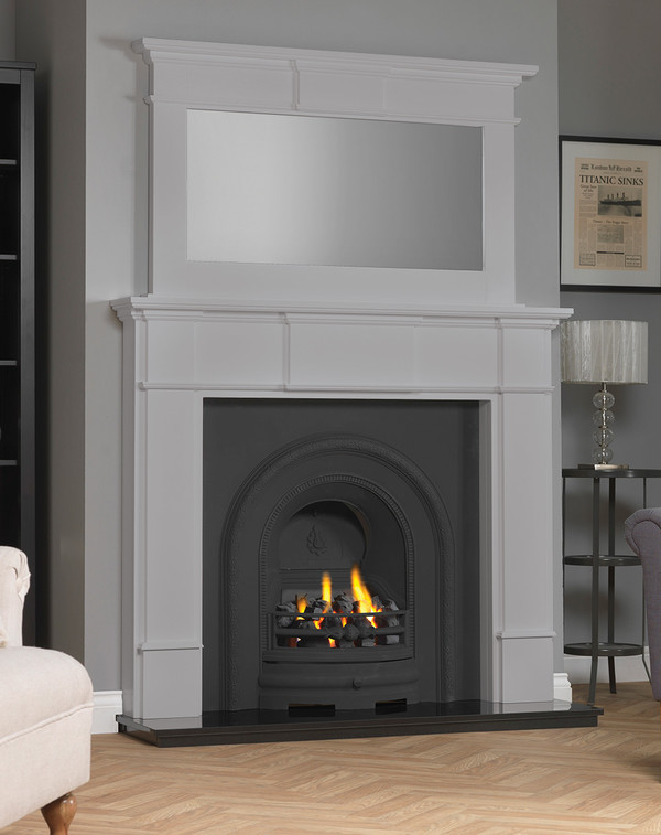 Chesham Fireplace Surround shown here in Mist