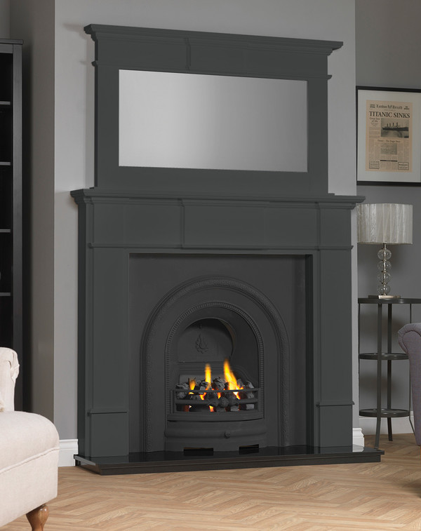 Chesham Fireplace Surround shown here in Slate