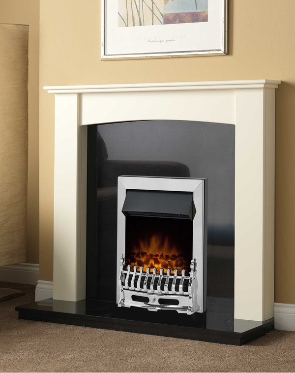 Brampton Fire Surround shown here in olde England white