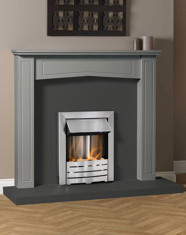 Clyde Fire Surround Shown Here in Storm