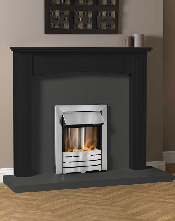 Clyde Fire Surround Shown Here in Matt Black