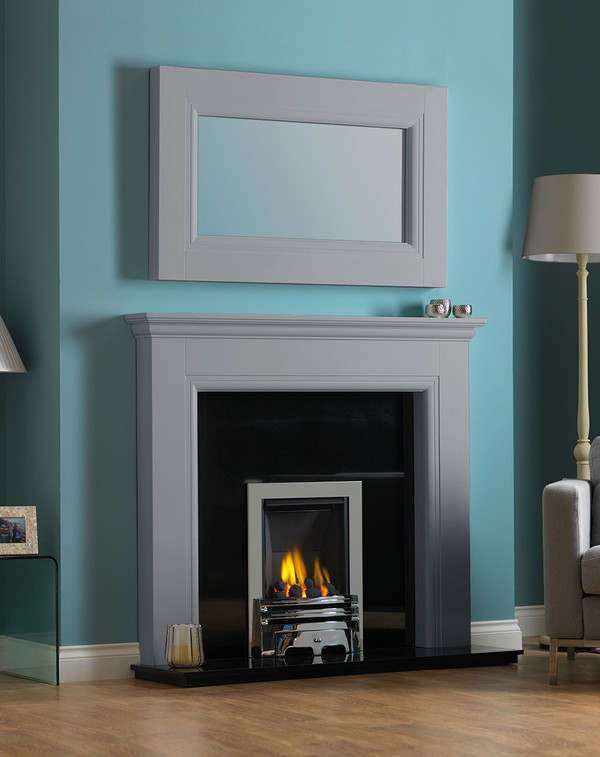 Rydale Fireplace Surround in Smooth Cloud