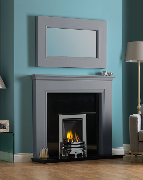 Rydale Fireplace Surround in Storm