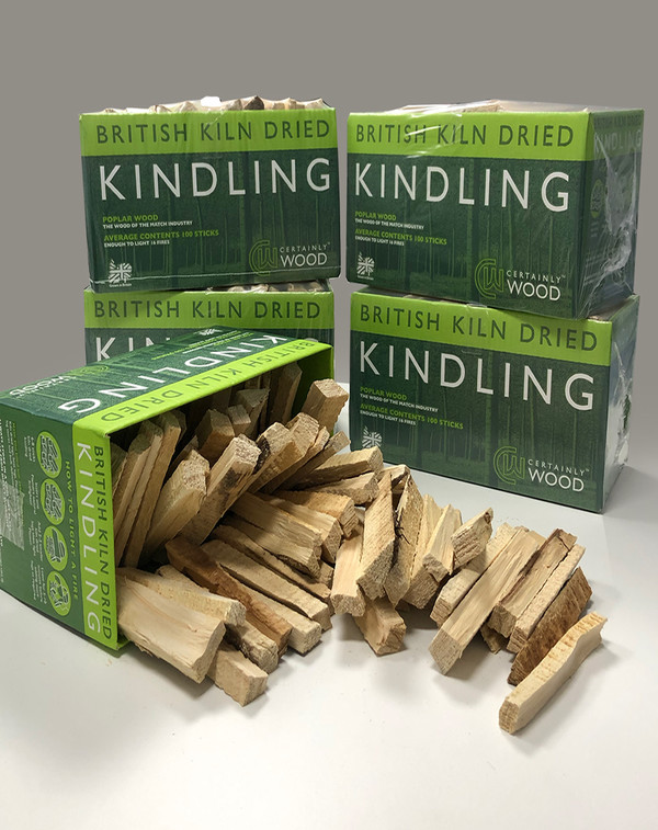 Wood Kindling, sold as a minimum of Five boxes