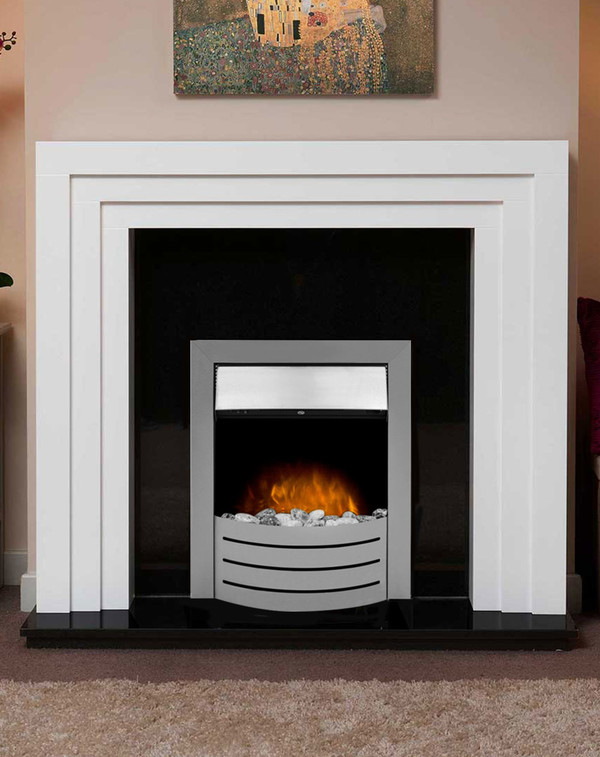 The Vantage electric inset fire
