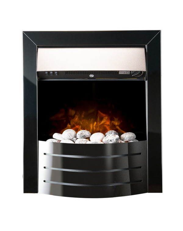 The Black Vantage Electric Inset Fire