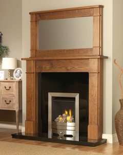 Larne Solid Pine Fire Surround
